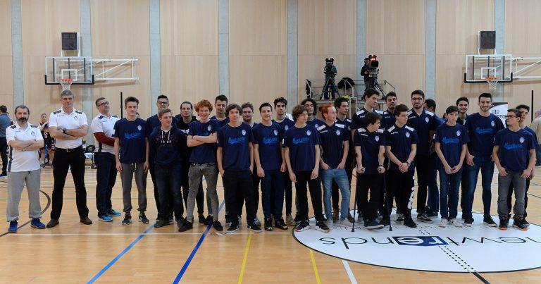 Il Raggruppamento ospite ufficiale del Riva Basket