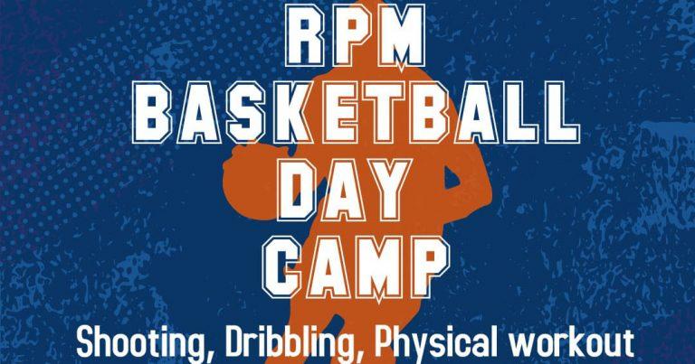 Iscrizioni aperte al 1° RPM Basketball Day Camp